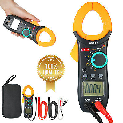 3266td Digital Clamp Meter Tester Acdc Auto Ranging Multimeter With Ncv G2g5