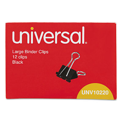 UNIVERSAL Large Binder Clips 1