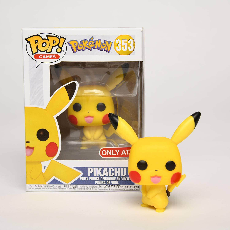 Funko Pop Games Pokemon Pikachu Vinyl Figure with Retail Box