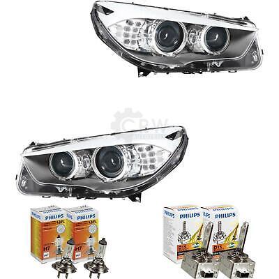 Bi Set de Faros Xenón Kit Para BMW 5er F07 Gran Turismo...