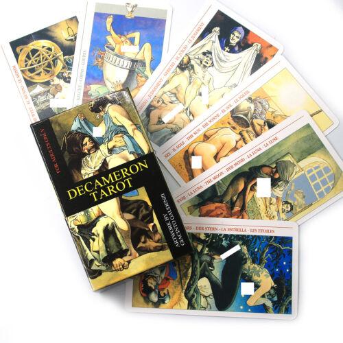 Decameron Tarot Deck [78 cards]