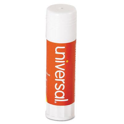 Universal Glue Stick .74 oz Stick Clear 12/Pack 75750