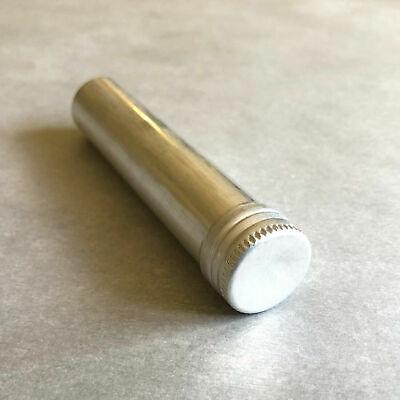 1pcs Aluminum Test Tube With Screw Cap Bottle Preroll Packaging Tube