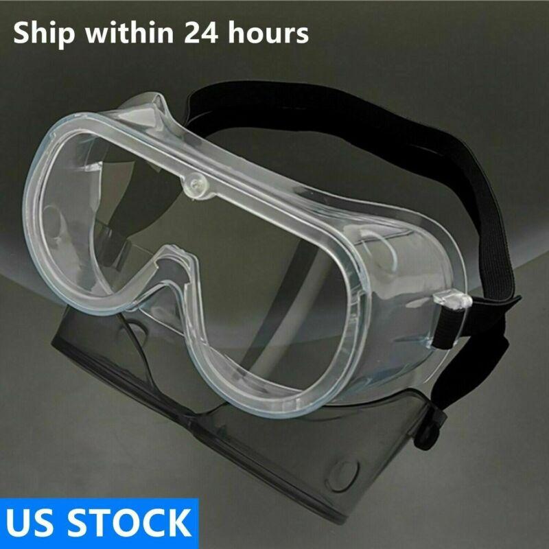 Anti-Fog Outdoor Safe Lab Glasses Protective Goggles Eyewear US Ship