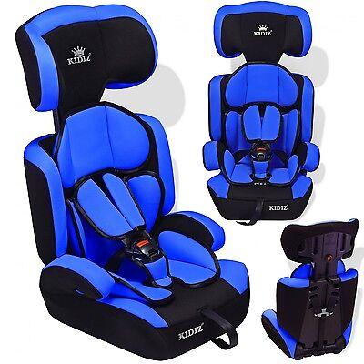 Kidiz® Sillas de coche de niño para coches Niños y Niñas Booster azul NUEVO