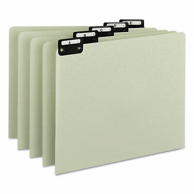 Smead Recycled Top Tab File Guides Alpha 15 Tab Pressboard Letter 25set 50576