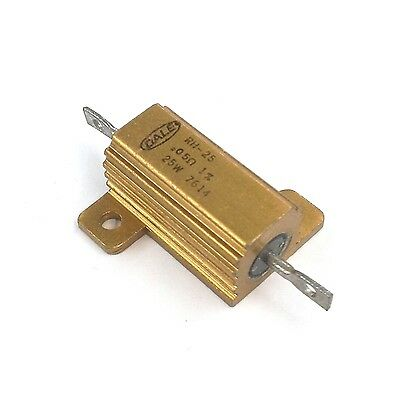 New Dale Rh25r050f 0.05 Ohm 1 25 Watt Metal Power Resistor 25w