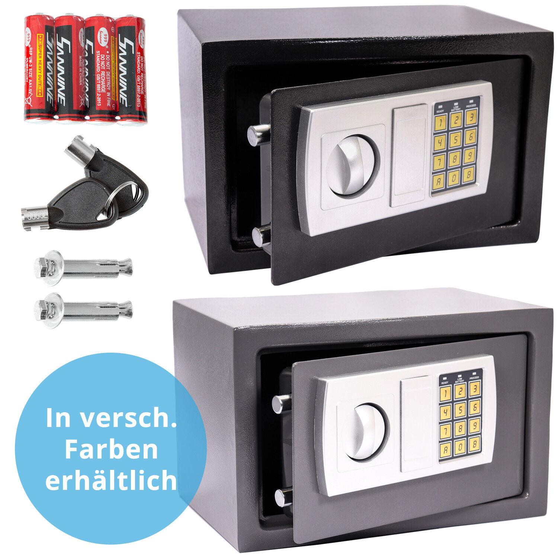 Elektronischer Safe Geldschrank 20x31x20cm Möbeltresor Wandtresor Wandsafe