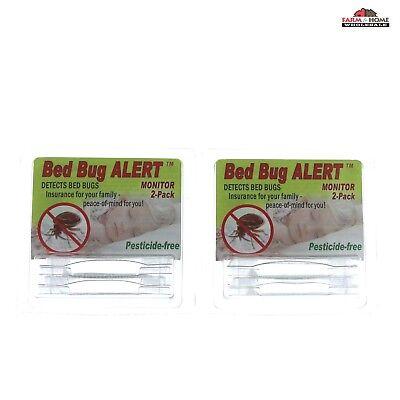 4 Bird-X Bed Bug Alert ~ New