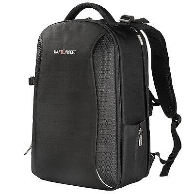 Camera Backpack Bag Laptop Case Rain Cover Multifunctional for DSLR K&F Concept
