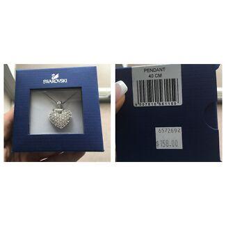 Swarovski Necklace & Pendant Brand New in box. RRP $158 Bondi Junction Eastern Suburbs Preview