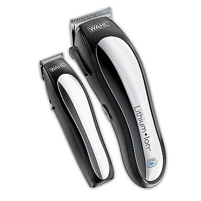 WAHL Lithium Pro CORDLESS Professional CLIPPER Men Trimmer Hair Cutting Kit
