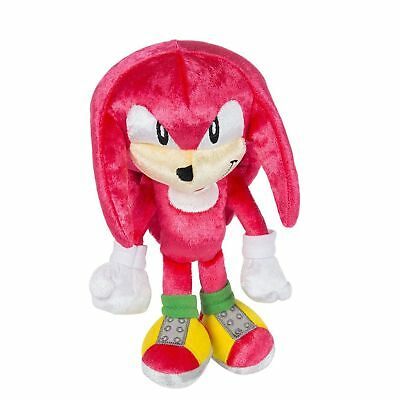 Sonic 25th Anniversary Knuckles Plush Sonic the Hedgehog Boom Action Figure Toy