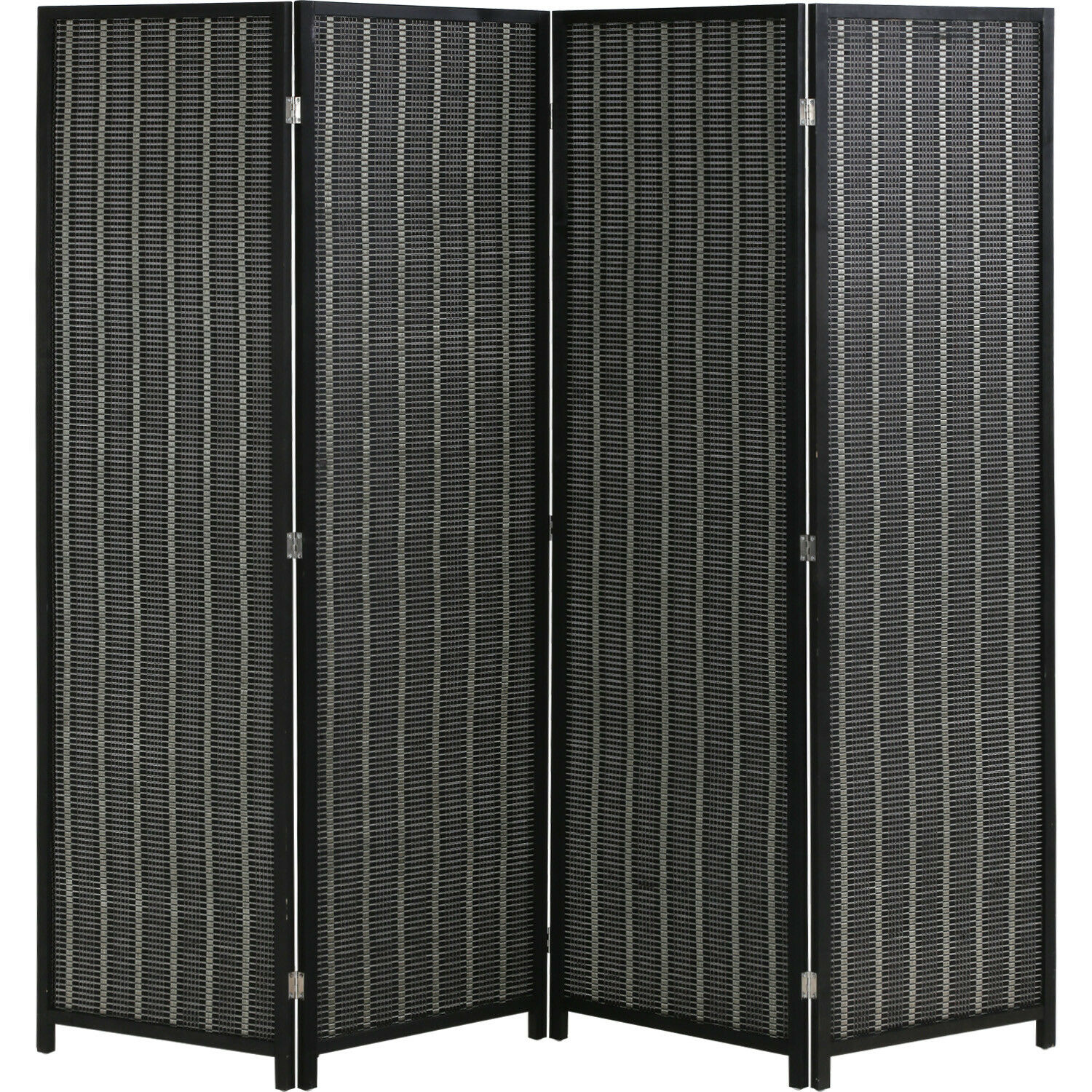 bamboo room divider folding privacy screen 4