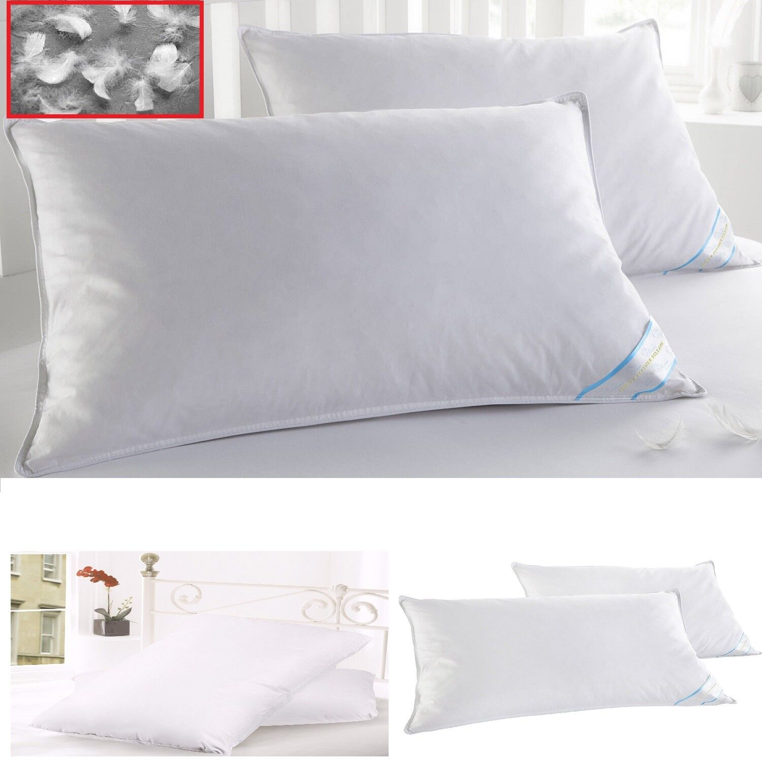 arrange ways pillow microfibre along custom to relaxing dk super full linens size queen bed hotel quality with superior king high pillows sunshiny
