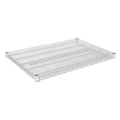 Alera Industrial Wire Shelving Extra Wire Shelves 36w X 24d Silver 2 Shelves