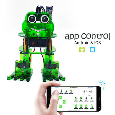 Keyestudio Kids Adults Coding Frog Robot Starter Kit For Arduino Nano Project