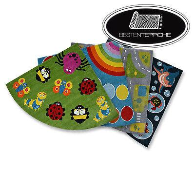 Modern Soft Coloured Carpet 'Paint' Quarter Circle for Kids Best (Best Paint For Kitchen)