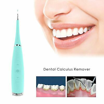Electric Ultrasonic Tooth Cleaner Dental Teeth Cleaning Calculus Remover Care