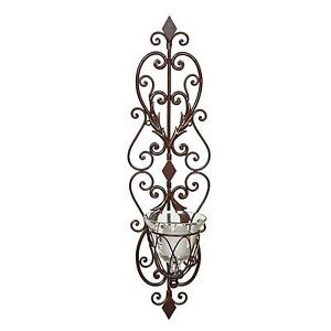 Black Wall Candle Holders decorative metal candle sconces. decorative. home plan and house