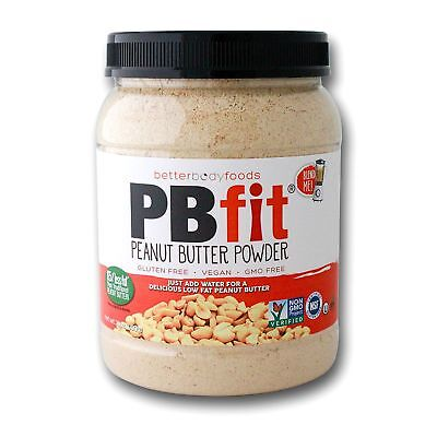 2 Jars 60 oz  PB FIT Peanut Butter Powder Gluten/GMO Free  Free Ship USA (48)
