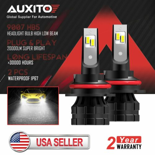 AUXITO 9007 LED Headlight Bulb High Low Beam for Ford Ranger 2001-2011