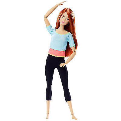 Barbie Made to Move Barbie Bendable Action Doll | MATTEL DPP74