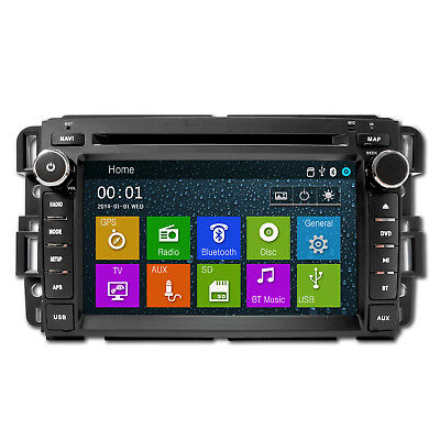 In-dash Radio DVD GPS Navigation CD Player for Chevrolet Silverado Avalanche