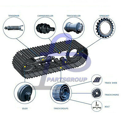 Bottom Roller Fits For Hanix H36b Mini Excavator