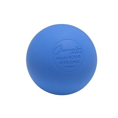 Champion Lacrosse Ball Official (x1) NFHS NCAA Mobility Massage Therapy-BLUE