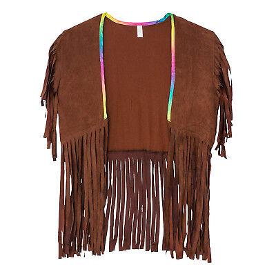Amscan Women's 70's Hippie Costume Vest