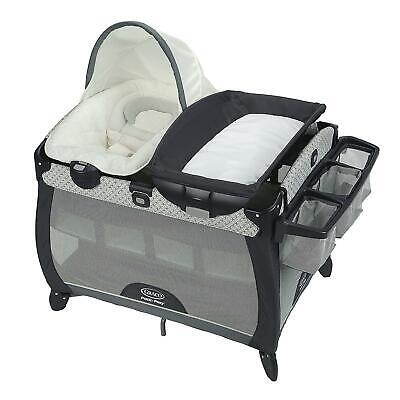 New Graco Pack 'n Play Playard Quick Connect Portable Seat Deluxe, McKinley