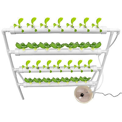 Hydroponic Grow Kit 28 Sites 4 Layer Melons Garden System Vegetable -