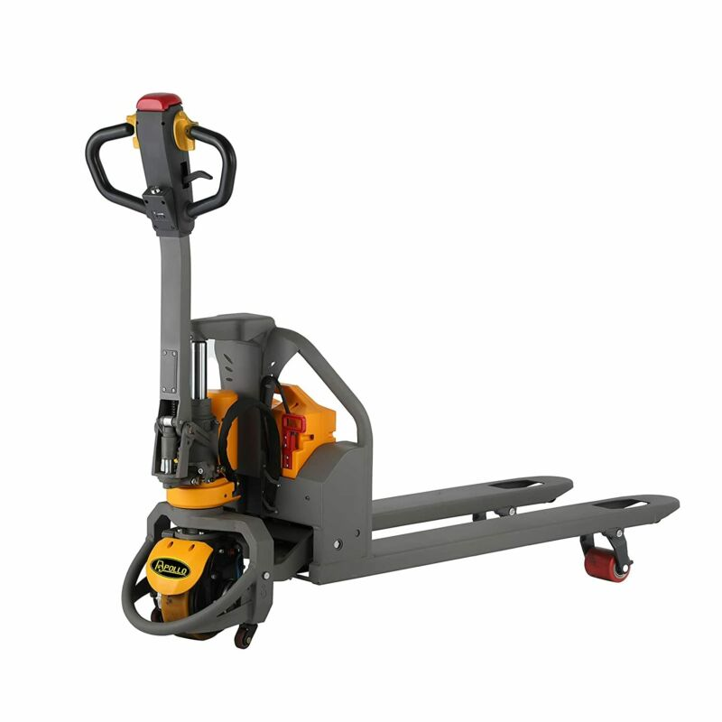 """APOLLOLIFT Full-Electric Lithium Pallet Jack Truck 3300Lbs Capacity 48""""x27""""Forks"""