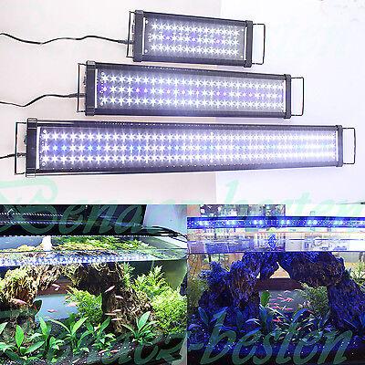 30 150cm led aquarium beleuchtung lampe aufsetzleuchte abdeckung klemmleuchte de ebay. Black Bedroom Furniture Sets. Home Design Ideas