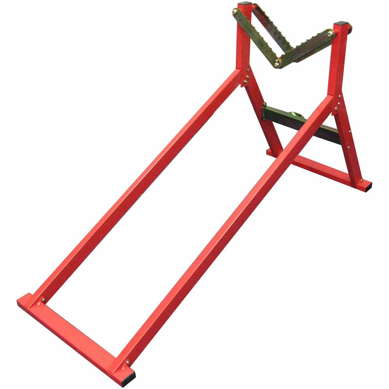 Olympia Tools 80-934 Forest Master Woodworking Ultimate Log Holder Sawhorse, Red