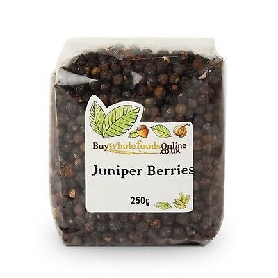 Juniper Berries 250g   Buy Whole Foods Online   Free UK P&P