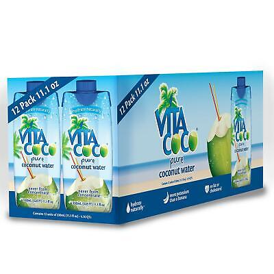 Vita Coco Coconut Water Pure Organic 11.1 Ounce (Pack of 12)*BEST DEAL ON