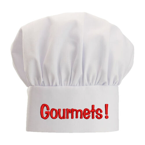 Personalized White Chef Hat Monogrammed Chef Hat High Quality Stitching