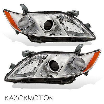 For 2007 2009 Toyota Camry US Version Replacement Projector Headlights Pair