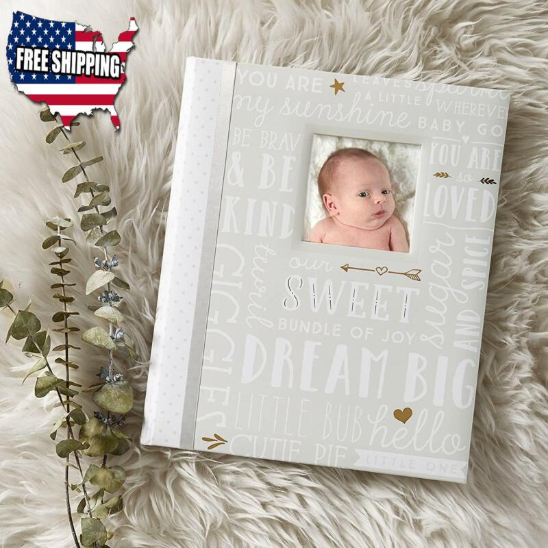 Baby Boy Or Girl Gift Memory Book Newborn First Five Years Photo Album Record