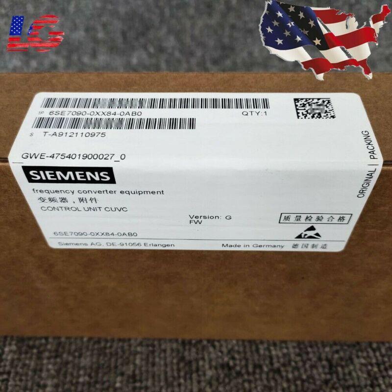 OEM Siemens 6SE7 090-0XX84-0AB0 6SE7090-0XX84-0AB0 CUVC Control Unit New in Box
