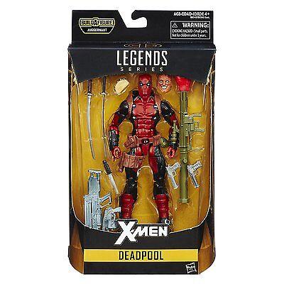 Deadpool   Marvel Legends 6  X Men Series  2016    Baf Juggernaut   In Stock