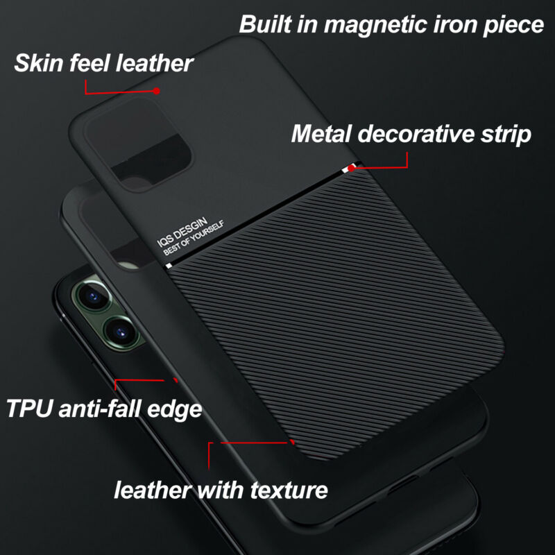 For IPhone 11 12 Pro Max XR XS SE 7 8 New Shockproof Rubber Stand Case Glass  - $6.64