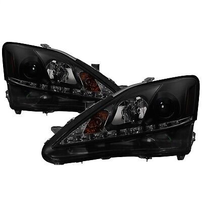 Spyder Auto 5080073 DRL Projector Headlights Fits 06-10 IS250 IS350