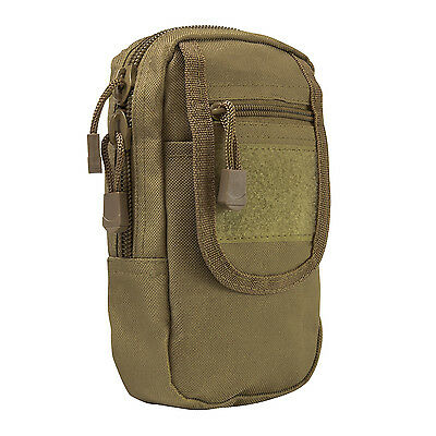 NcStar VISM TAN Large Utility Cell Phone GPS EMT First Aid MOLLE PALS Pouch