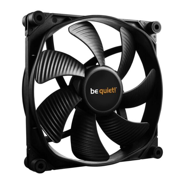 be quiet 140mm PWM Silent Wings 3 High Pressure Speed PC Fan 7 Blade PWM 28.1dB