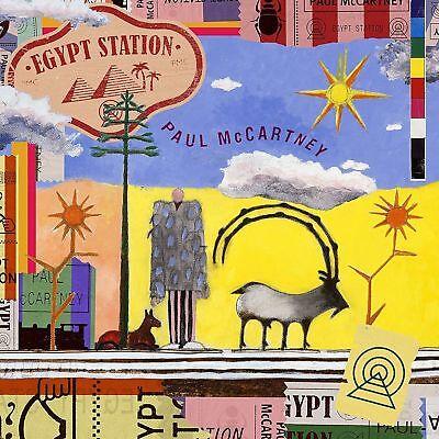 PAUL McCARTNEY - EGYPT STATION  (Double LP Vinyl) sealed