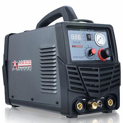 Cts-180 3-in-1 Combo 40 Amp Plasma Cutter 180a Tig-torch Stick Arc Dc Welder