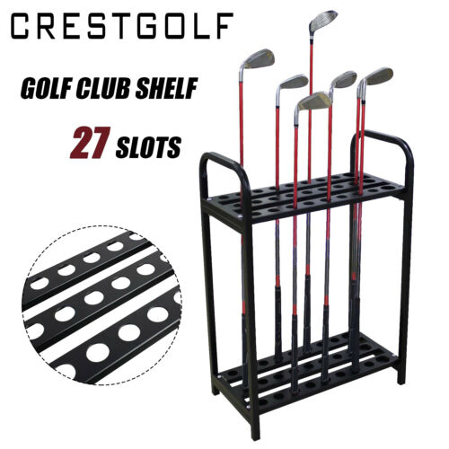 Golf Clubs Rack Organizers Metal Golf Club Display Shafts Stand Durable 27 Clubs